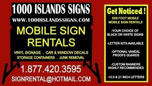Sign rentals (mobile road signs) Cornwall Ontario image 8