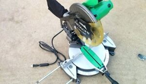 "Hitachi Mitre Saw 10"" - Model C10FCE2"