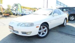 1992 Toyota Soarer SC400 GT White 4 Speed Automatic Coupe
