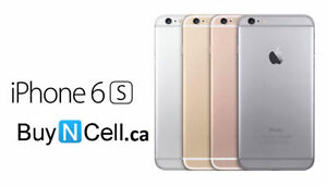 BRAND NEW IPHONE 6S 16GB Rogers/Fido/Bell + 12 MONTHS OF WARRANTY