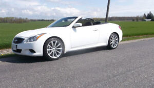 2010 INFINTI G37 SPORT CONVERTIBLE ** REDUCED FOR QUICK SALE **