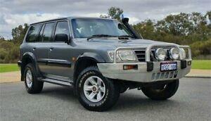 2003 Nissan Patrol GU III ST (4x4) Grey 5 Speed Manual Wagon Cannington Canning Area Preview