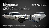 Service de Limousine grand Luxe a Montreal pour Mariage