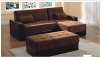 3PCS SECTIONAL SOFA BED WITH STORAGE IN ALL PCS