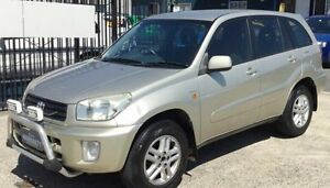 2003 Toyota RAV4 ACA21R EXTREME AUTOMATIC Gold 4 Speed Automatic Wagon Underwood Logan Area Preview
