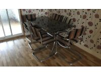 Retro style table and chairs