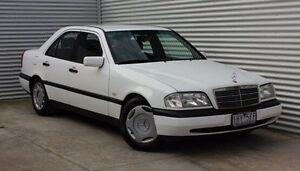 1997 Mercedes-Benz C200 W202 Esprit White 5 Speed Automatic Sedan Thomastown Whittlesea Area Preview