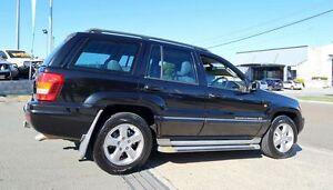 2004 Jeep Grand Cherokee WG MY2004 Limited Black 5 Speed Automatic Wagon Woodridge Logan Area Preview