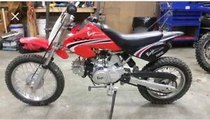 70cc baja dirt bike for sale