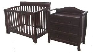 2-Piece Combo! Crib AND Dresser!! For $398.00 West Island Greater Montréal image 1