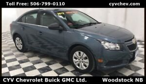2012 Chevrolet Cruze LS - 6 Speed Manual & Power Options