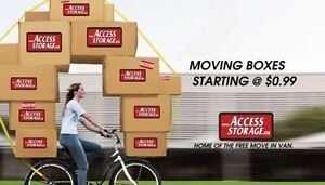 * * * MOVING KITS AVAILABLE WITH GREAT SAVINGS * * *