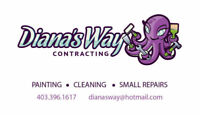 Diana's Way Contracting - 20 Years Painting Experience