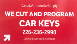 High Security Car key Cutting and programming