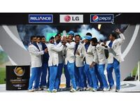 ICC CHAMPIONS TROPHY TICKETS INDIA PAKISTAN, INDIA SRI LANKA, INDIA SOUTH AFRICA, IND PAK cheap