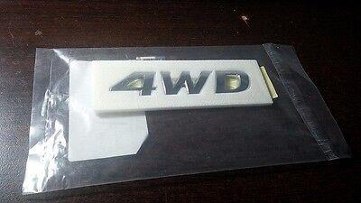 "Genuine 2009~ 2013 Hyundai Tucson ix ""4WD"" Emblem"