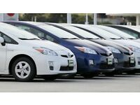 EXCELLENT CONDITION TOYOTA PRIUSES WITH COMPREHENSIVE COVER - PCO HIRE AT £180 PER WEEK E