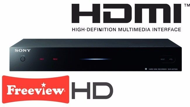 Sony SVR-HDT500 FREEVIEW RECORDER BOX