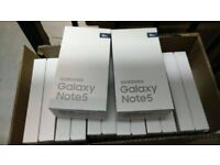 👌👌👌SPECIAL OFFER 👌👌👌SAMSUNG GALAXY NOTE 5 UNLOCKED BRAND NEW BOXED WARRANTY