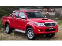 Wanted Toyota Hilux pick ups 2.4-2.5-3ltr etc all years considered damaged non runners mot