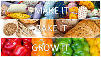 NEXT MEETING FOR MONTAGUE MAKE, BAKE OR GROW