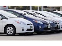 PCO CARS HIRE RENT-TOYOTA PRIUS £100 PER WEEK UBER READY