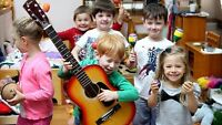 music teacher wanted for young children in multiple daycares