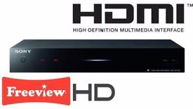 Sony SVR-HDT500 Freeview+ Twin Tuner with 500GB storage