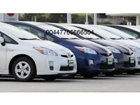 PCO cars to rent or hire toyota prius