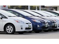 CHEAP PCO HIRE- TOYOTA PRIUS RENTAL ONLY £130 PER WEEK OR £190 INCLUDING INSURANCE