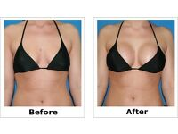 Free breast enhancement treatment (non-surgical) in return for promotional pictures