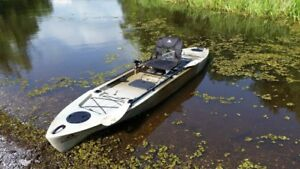 Ascend FS128T Fishing Kayak sit on top OBO