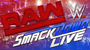 WWE MONDAY NIGHT RAW AND SMACKDOWN LIVE AIR CANADA CENTRE