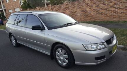 2007 HOLEN commodore low km WAGON 1year rego