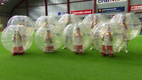 Bubble soccer, Jumping castles, gyms, nerf tag, party room!