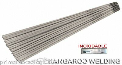 58 electrodos inoxidable E316.L Ø 3,2x350 mm para Soldadura Electrica Inverter