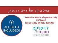 MOVE IN TIME FOR CHRISTMAS Now only £375pcm!!