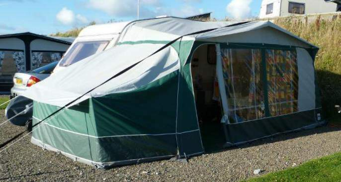 Dorema Sirocco Caravan Awning With Annexe Size 10 875 900cm Excellent Condition