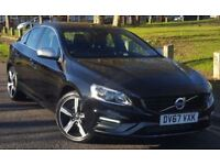VOLVO S60 D4 [190] R DESIGN Lux Nav 4dr Geartronic [Leather] (black) 2017