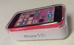 !!! iPhone *5c--*MINT***BELL/VIRGIN *PINK *IN BOX - ACCESSORIES!