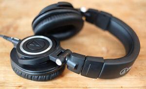 ATH-M50X Studio Headphones with Accessories