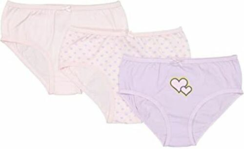 Baby Jay Pink Tagless Cotton Girl Briefs 3 Pack Ultra Soft Girl Underwear 333526