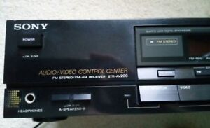 Sony STR-AV200 Home Theater Audio AM/FM Tuner Stereo Receiver