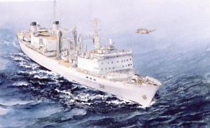 FRAMED PRINT OF HMCS PRESERVER