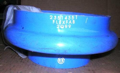 23514351, Detroit Diesel 8 inch to 5 1/2 Flexible Hose Adapter
