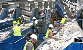 Recycling in St Albans/ Radlet. Pickers & Counter balance forklift drivers required.