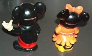 Vintage Mickey and Minnie Mouse Matching Coin Piggy Bank Set London Ontario image 3