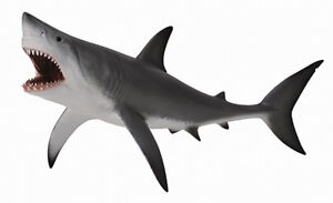 *NEW* CollectA 88729 Great White Shark Model 20.4cm - Sealife Ocean