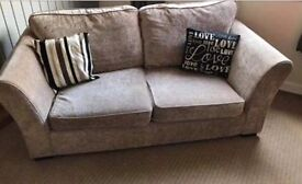 2 and 3 Seater Mink Sofas
