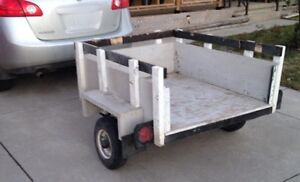 4' by 4' utility trailer - Ideal for Home Reno Projects